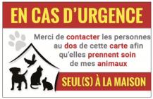 Carte d urgence recto