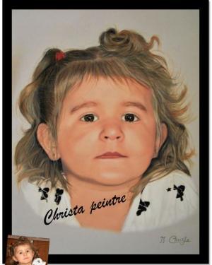 Portrait petite fille