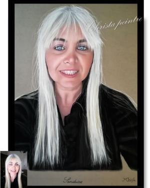 Portrait sandrine